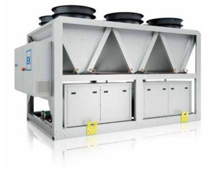 Refrigeración agua – R410A EKS/HE
